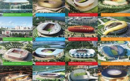 Estas son las 11 sedes para el Mundial de Rusia 2018