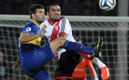 Boca Juniors, Y River quedaron en deuda en el primer partido de semifinal por la Copa Sudamericana