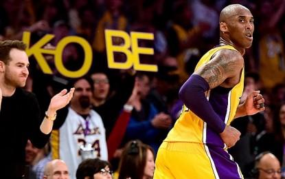 Kobe Bryant se despidió como todo un crack!!!