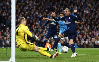 Joe Hart evita la caída del Manchester City ante Real Madrid