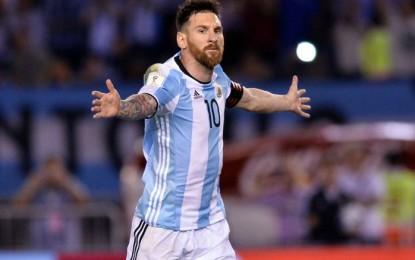 LA FIFA le redujo la sanción a Lionel Messi