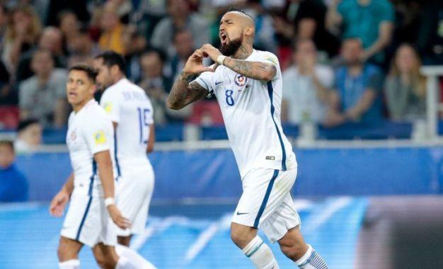 Chile inicia el torneo con Triunfó sobre Camerún