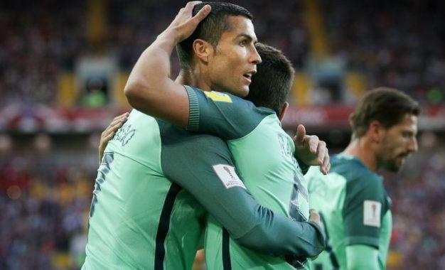Portugal gana gracias a Cristiano Ronaldo, 1-0