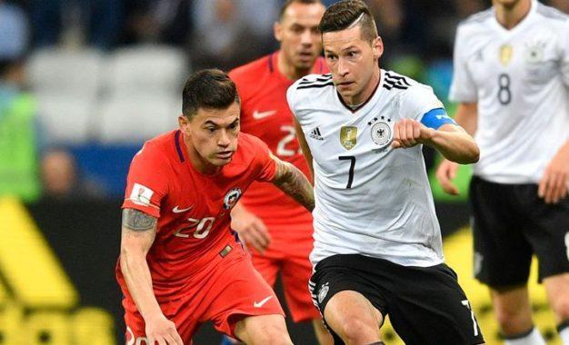Alemania y Chile dividen puntos en Kazan, 1-1