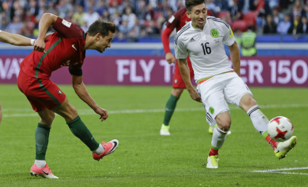 México le quito los tres punto a Portugal, 2-2