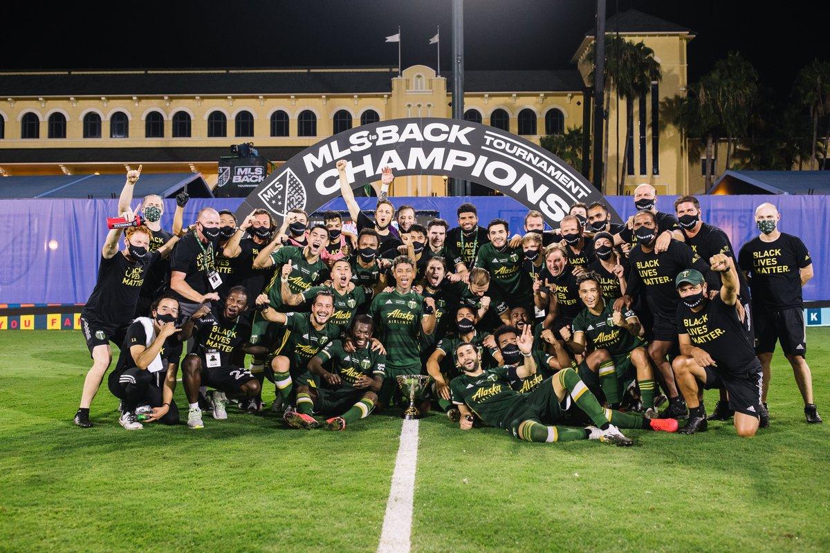 Portland Timbers consiguió el título en Orlando!!!