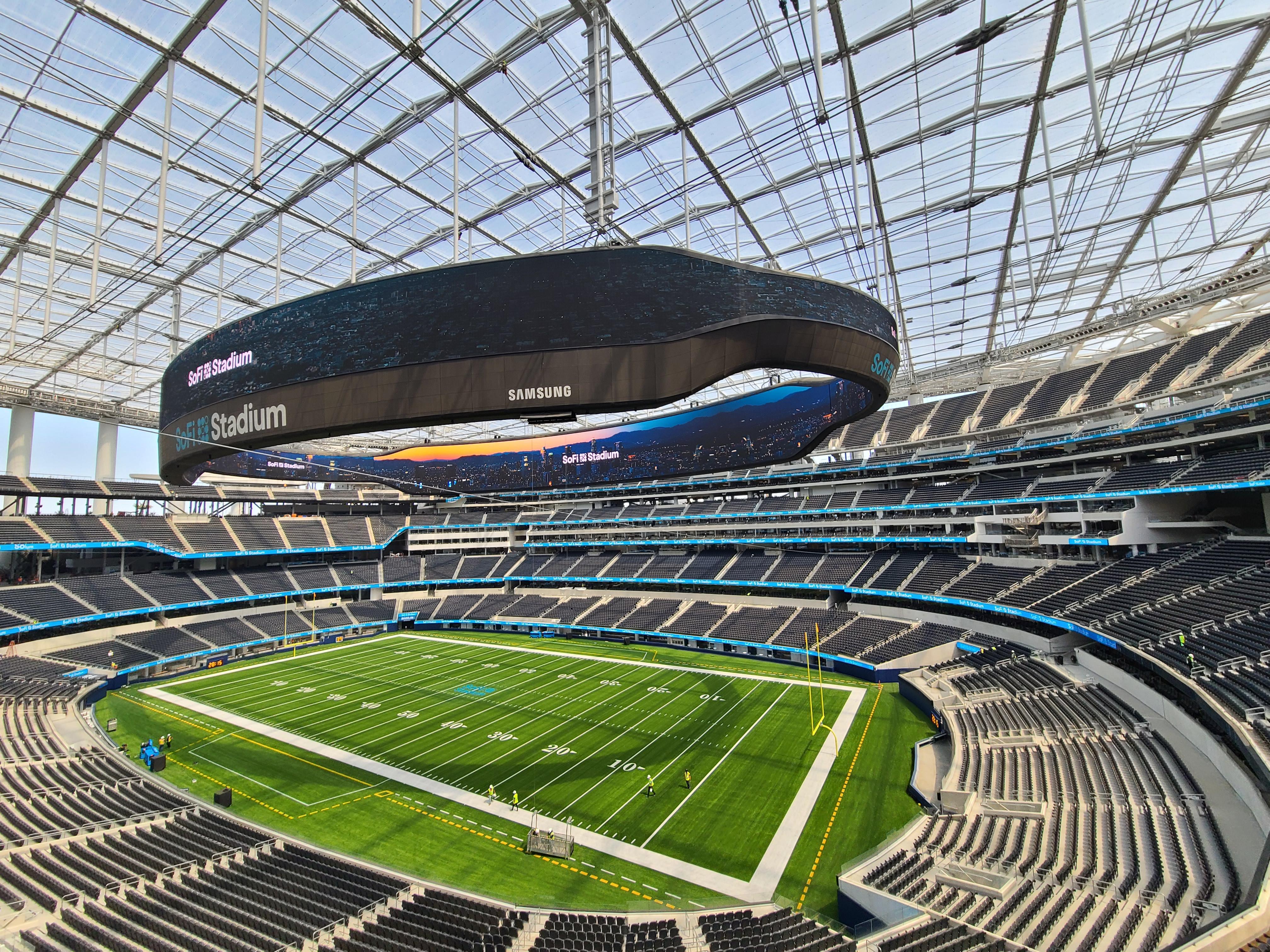 Este es el Sofi Stadium!!!