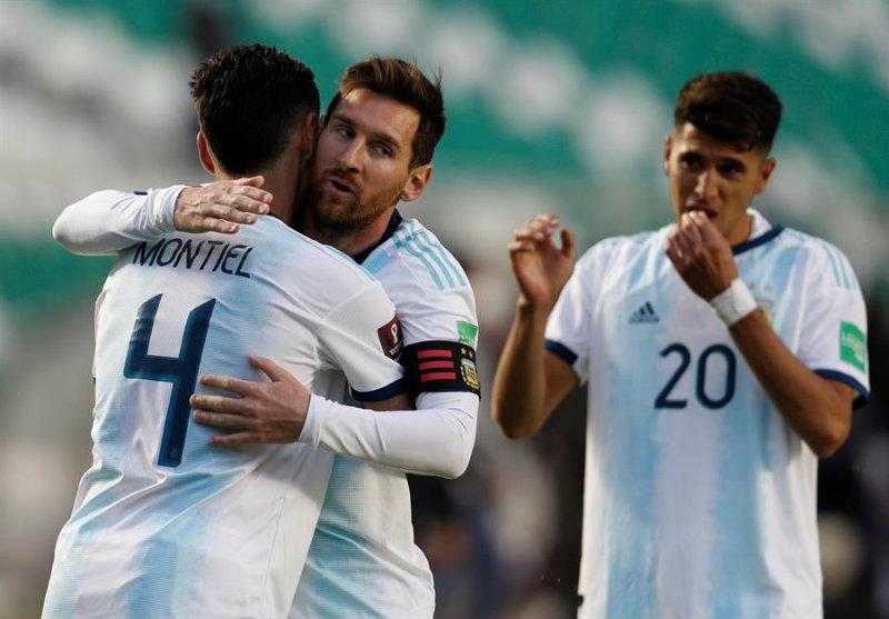 Argentina consiguió los tres puntos en La Paz!!!