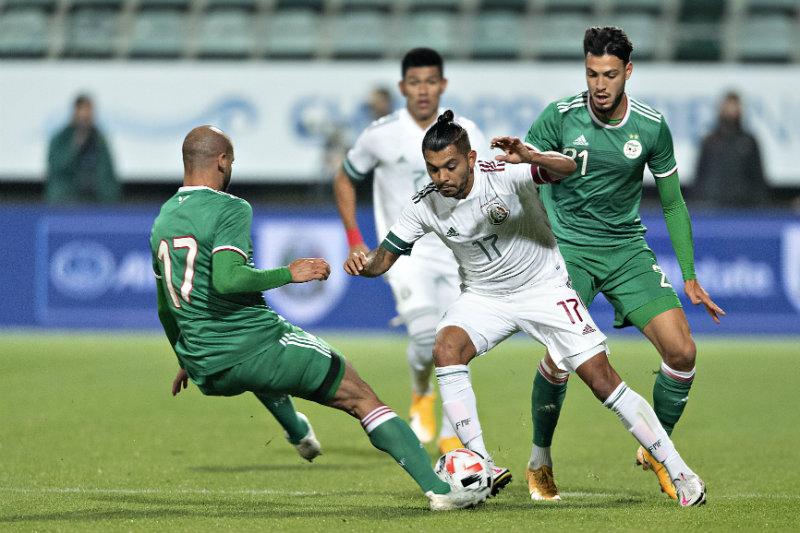 El Tri-color empató ante Argelia