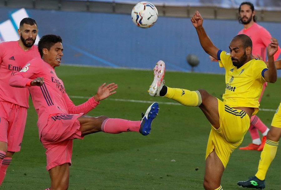 El Cadiz derroto al Real Madrid de visitante!!!