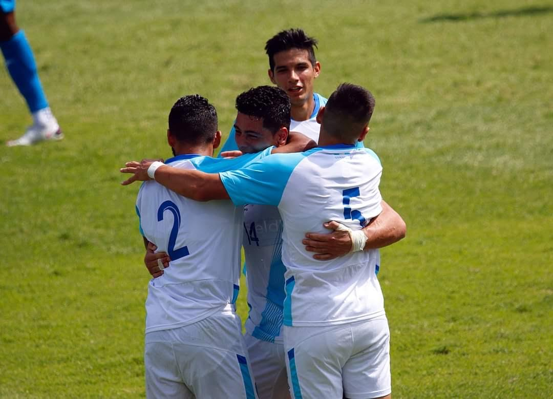 Guatemala sorprende y derrotó a Honduras
