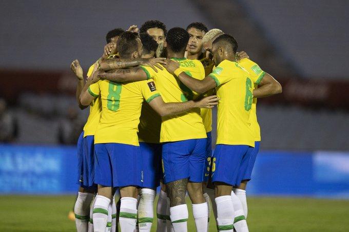 Brasil saca los tres puntos de Montevideo!!!