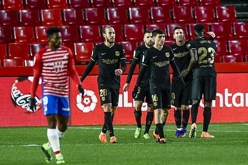 Barcelona no tuvo problemas de visitante!!!