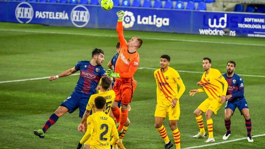 Barcelona consigue su primera victoria en este 2021!!!