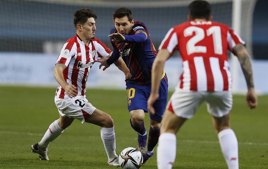Athletic de Bilbao se corono en la Supercopa de España