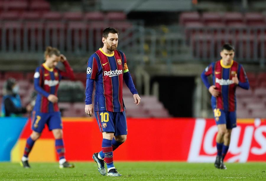 PSG aplasto al Barcelona en el Camp Nou