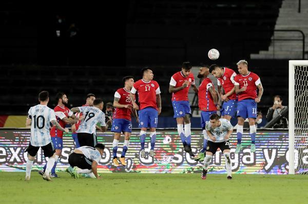 Argentina y Chile dividen Puntos en Rio de Janeiro!!!