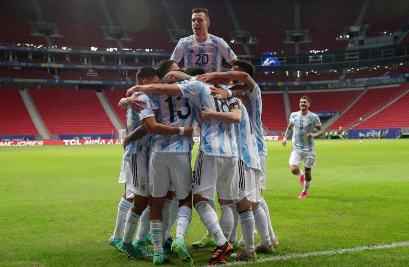 Argentina derrota a Uruguay en Copa América!!!