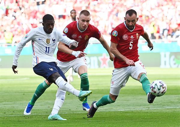 Hungría sorprende y empata ante Francia!!!