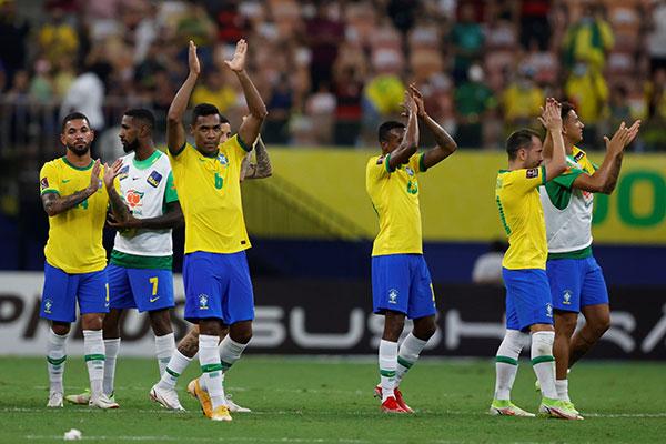 Brasil consigue su boletó al Mundial de Qatar 2022